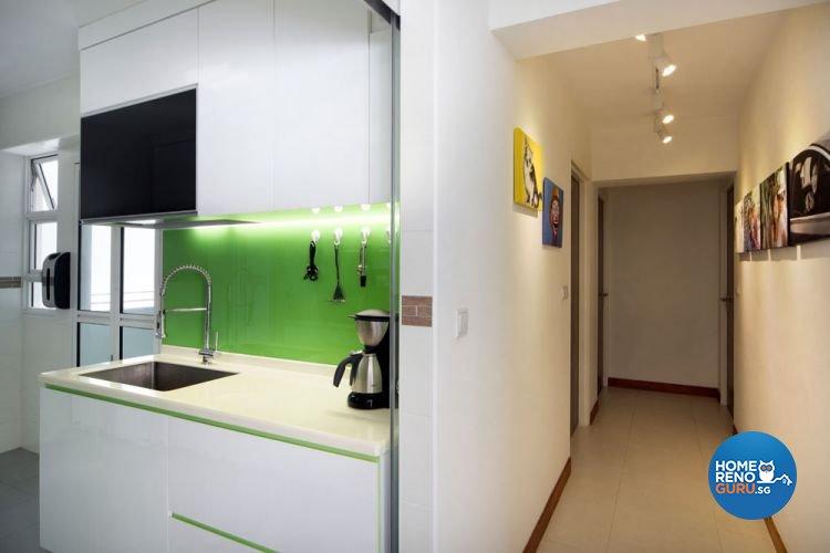 Contemporary, Minimalist Design - Kitchen - Condominium - Design by AGnS Design & Trade Pte Ltd