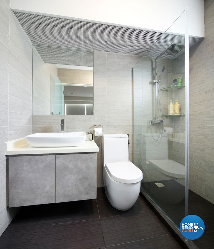 Contemporary, Minimalist Design - Bathroom - Condominium - Design by AGnS Design & Trade Pte Ltd