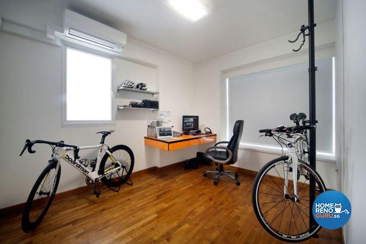Contemporary, Minimalist Design - Study Room - Condominium - Design by AGnS Design & Trade Pte Ltd