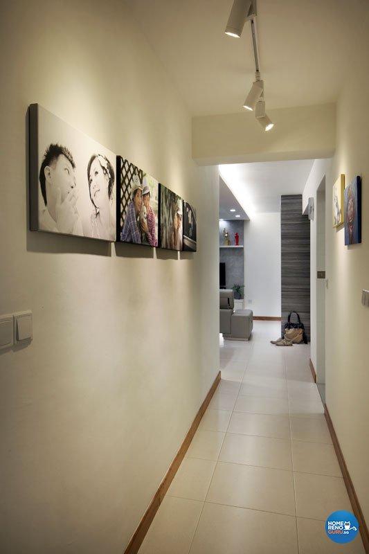 Contemporary, Minimalist Design - Living Room - Condominium - Design by AGnS Design & Trade Pte Ltd