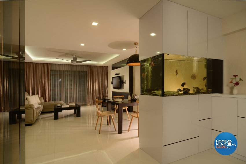 Contemporary, Modern Design - Living Room - HDB 5 Room - Design by Ai Design Collection Pte Ltd