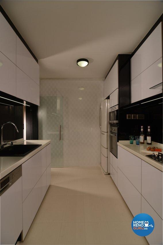 Contemporary, Modern Design - Kitchen - HDB 5 Room - Design by Ai Design Collection Pte Ltd