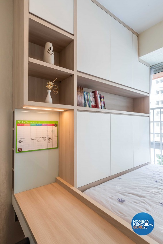 Design - Bedroom - Condominium - Design by Albedo Design Pte Ltd