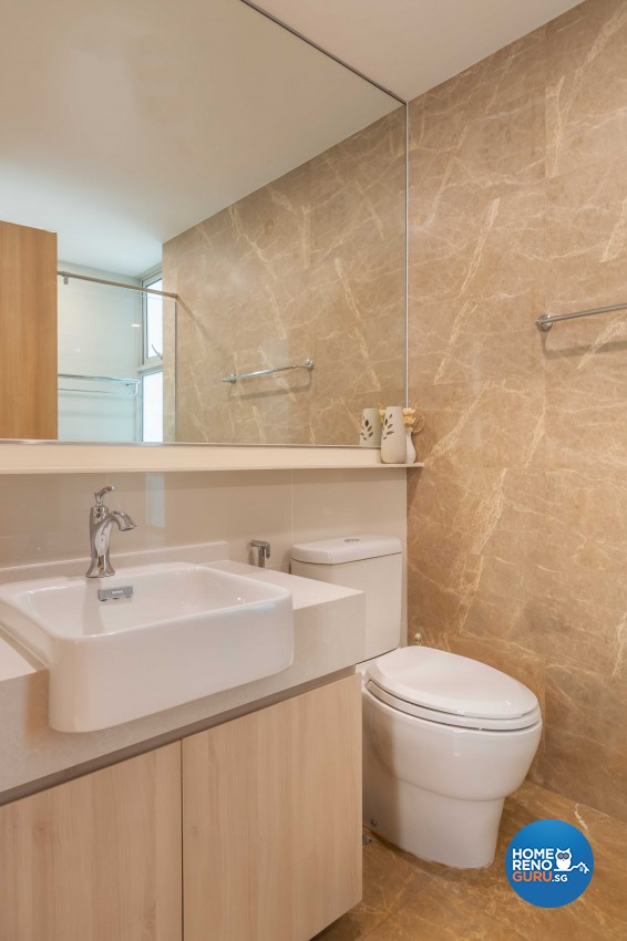 Design - Bathroom - Condominium - Design by Albedo Design Pte Ltd