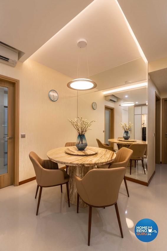 Design - Dining Room - Condominium - Design by Albedo Design Pte Ltd