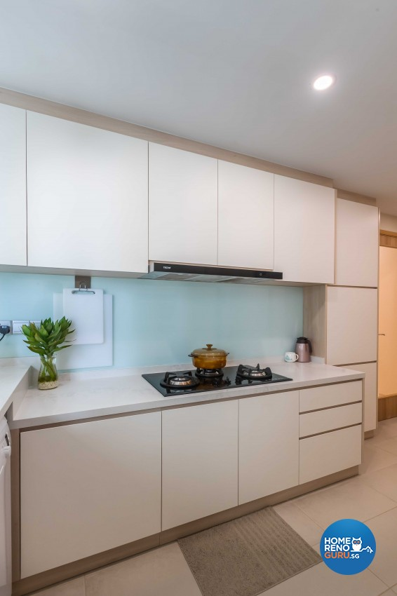 Design - Kitchen - Condominium - Design by Albedo Design Pte Ltd
