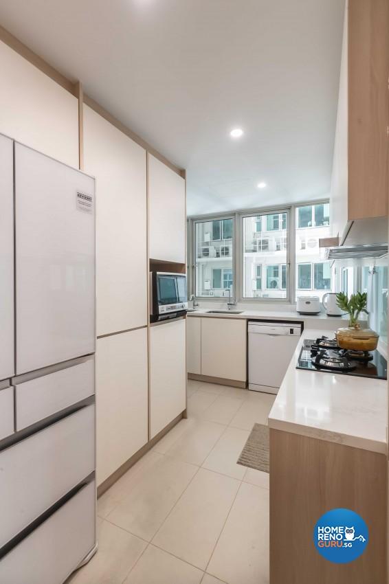 Design - Kitchen - Condominium - Design by Albedo Design Pte Ltd