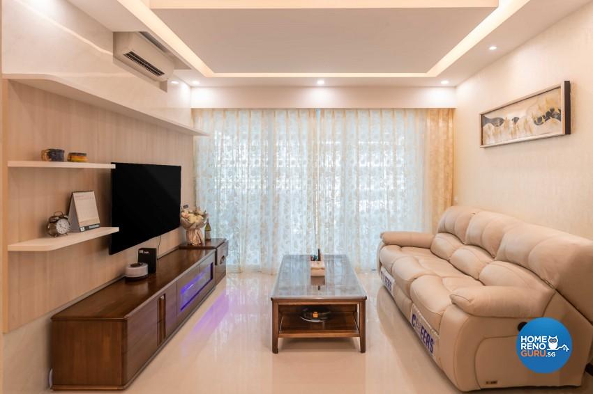 Design - Living Room - Condominium - Design by Albedo Design Pte Ltd