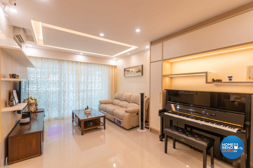 Design - Living Room - Condominium - Design by Albedo Design Pte Ltd