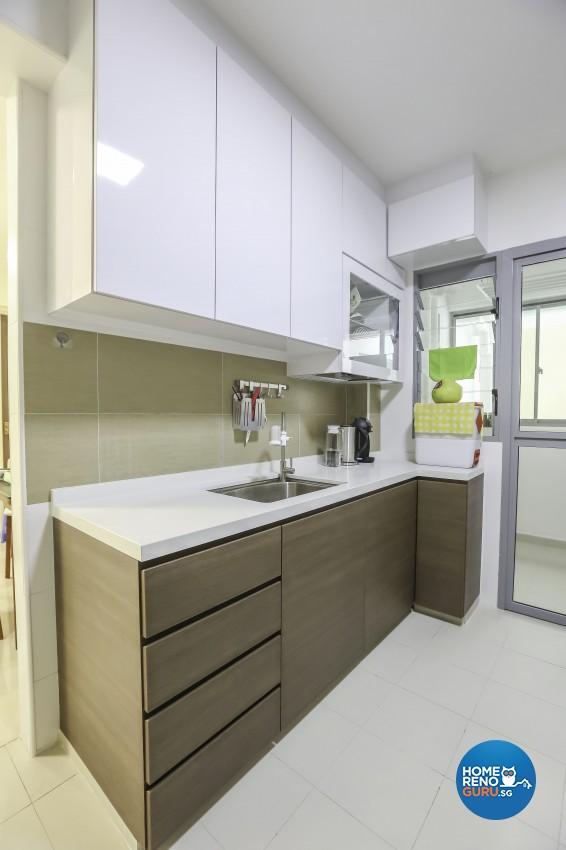 Contemporary, Eclectic, Minimalist Design - Kitchen - Condominium - Design by Albedo Design Pte Ltd