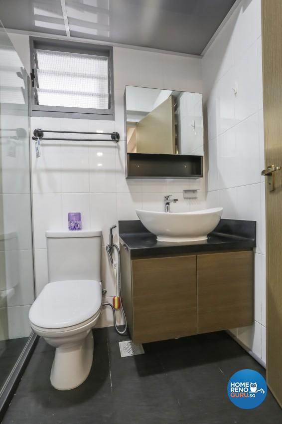 Contemporary, Eclectic, Minimalist Design - Bathroom - Condominium - Design by Albedo Design Pte Ltd