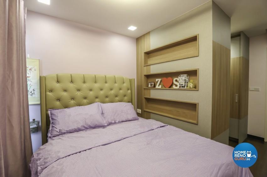 Contemporary, Eclectic, Minimalist Design - Bedroom - Condominium - Design by Albedo Design Pte Ltd
