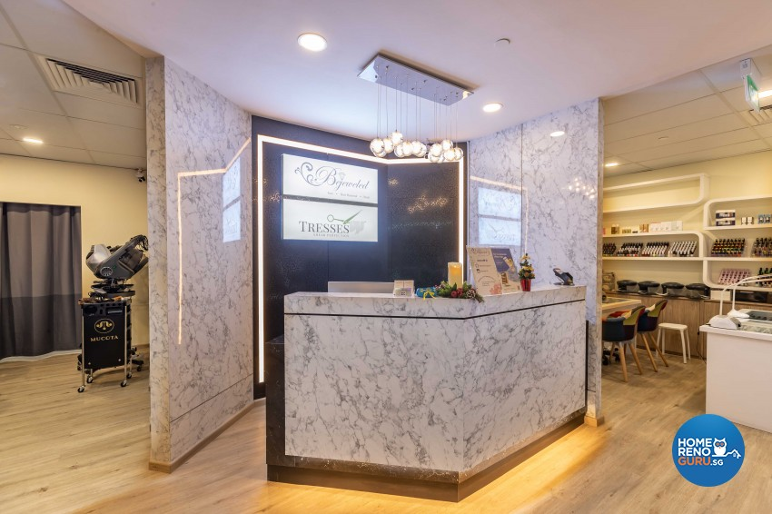 Minimalist, Modern Design - Commercial - Retail - Design by Albedo Design Pte Ltd