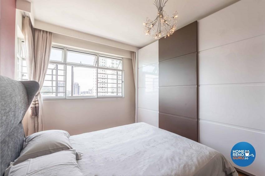 Contemporary, Modern Design - Bedroom - HDB 4 Room - Design by Albedo Design Pte Ltd