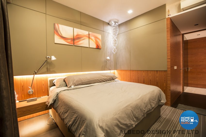 Contemporary, Minimalist, Modern Design - Bedroom - Condominium - Design by Albedo Design Pte Ltd