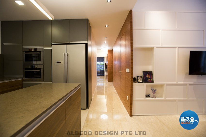 Contemporary, Minimalist, Modern Design - Living Room - Condominium - Design by Albedo Design Pte Ltd