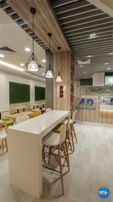 Modern, Scandinavian Design - Commercial - F&B - Design by Albedo Design Pte Ltd