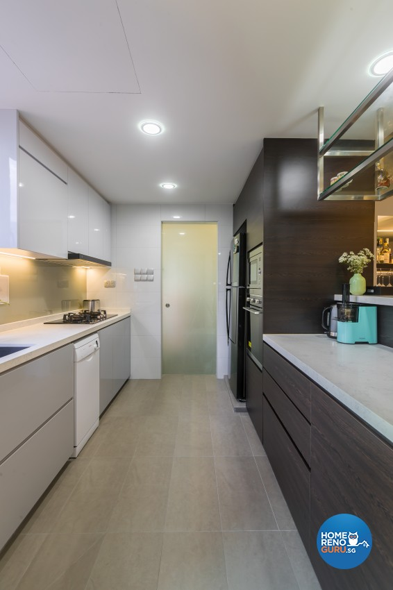 Contemporary, Modern Design - Kitchen - Condominium - Design by Albedo Design Pte Ltd
