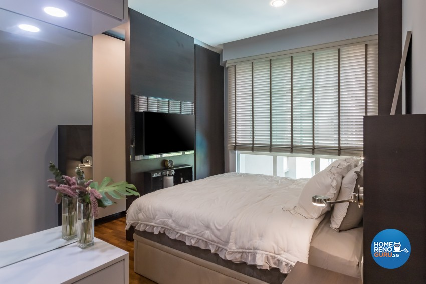 Contemporary, Modern Design - Bedroom - Condominium - Design by Albedo Design Pte Ltd