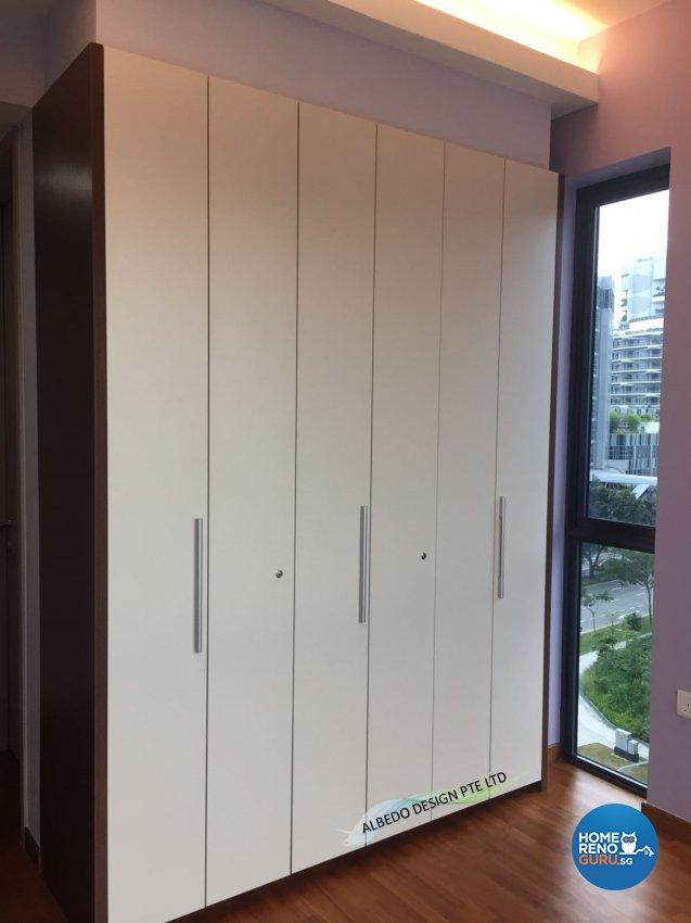 Contemporary, Minimalist, Modern Design - Bedroom - Condominium - Design by Albedo Design Pte Ltd