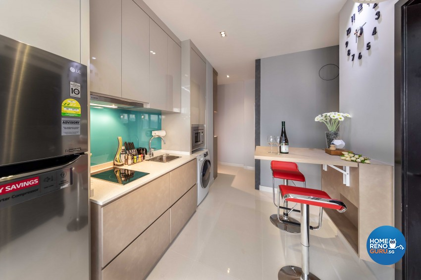Modern Design - Kitchen - Condominium - Design by All About Designs Pte Ltd