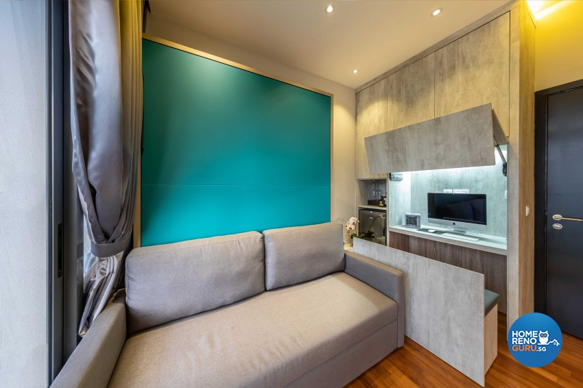 Modern Design - Bedroom - Condominium - Design by All About Designs Pte Ltd