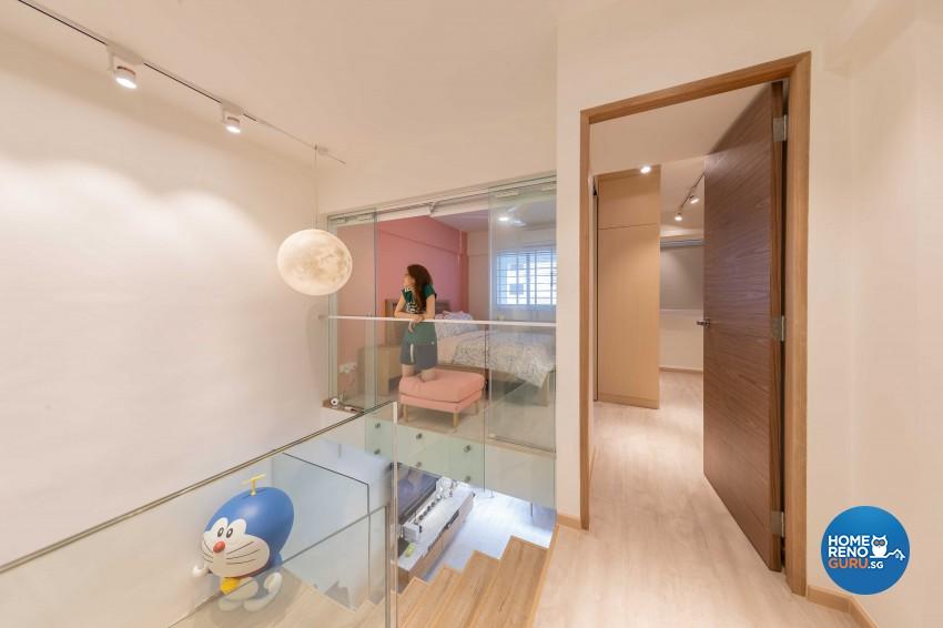 Scandinavian Design - Living Room - HDB 4 Room - Design by All About Designs Pte Ltd