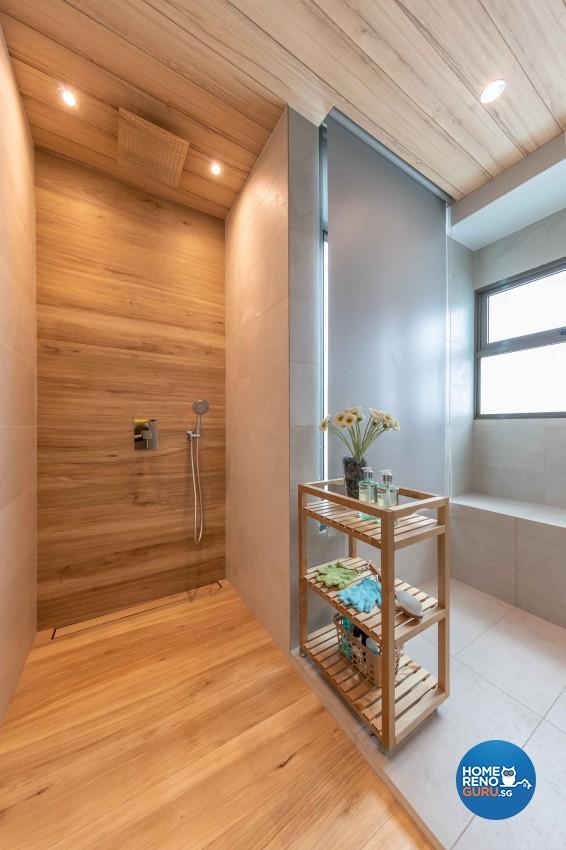 Modern, Victorian Design - Bathroom - HDB 4 Room - Design by All About Designs Pte Ltd