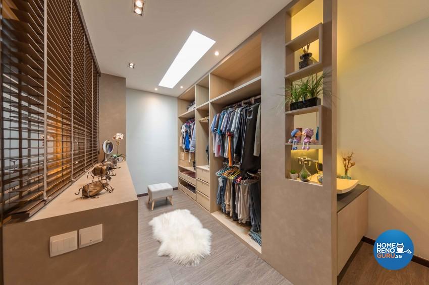 Modern, Victorian Design - Bedroom - HDB 4 Room - Design by All About Designs Pte Ltd