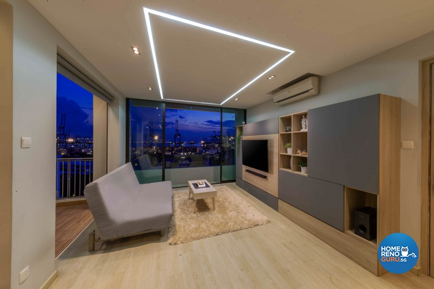 Modern, Victorian Design - Living Room - HDB 4 Room - Design by All About Designs Pte Ltd
