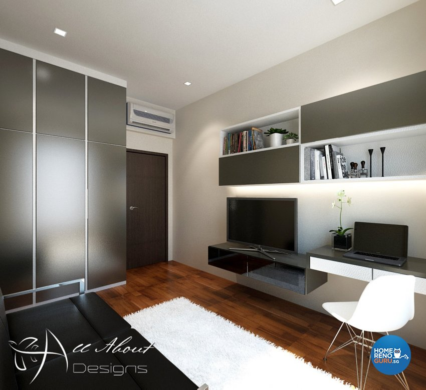 Contemporary, Modern Design - Study Room - Condominium - Design by All About Designs Pte Ltd