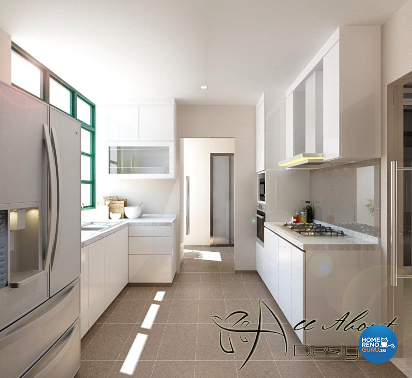 Contemporary, Modern Design - Kitchen - Condominium - Design by All About Designs Pte Ltd