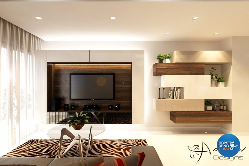Contemporary, Modern, Resort Design - Living Room - Condominium - Design by All About Designs Pte Ltd