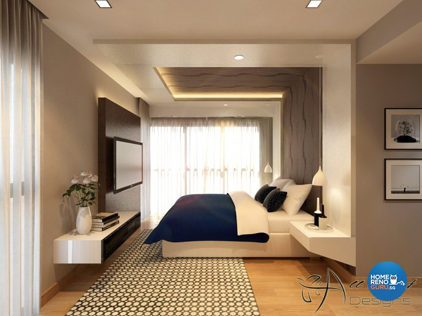 Contemporary, Modern, Resort Design - Bedroom - Condominium - Design by All About Designs Pte Ltd
