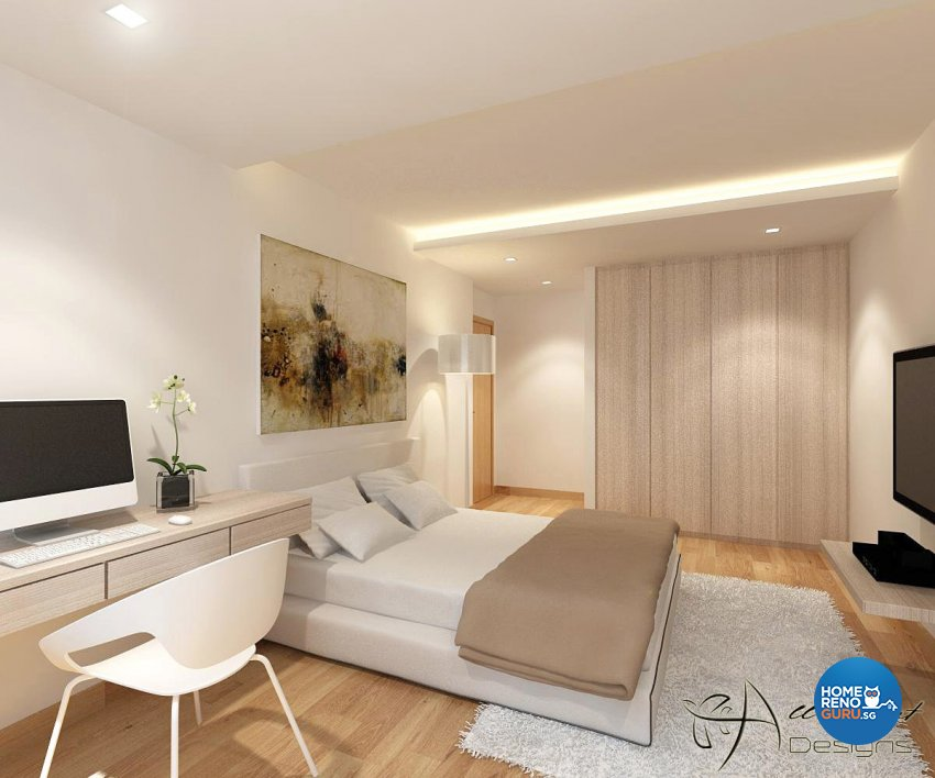 Contemporary, Minimalist, Scandinavian Design - Bedroom - HDB 5 Room - Design by All About Designs Pte Ltd