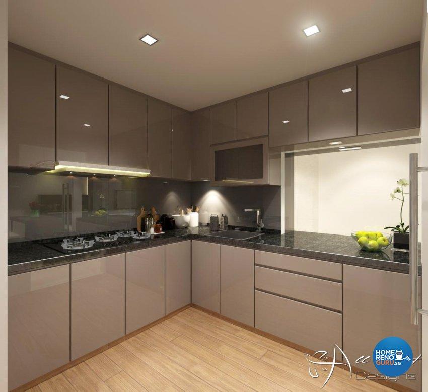 Contemporary, Modern Design - Kitchen - Condominium - Design by All About Designs Pte Ltd