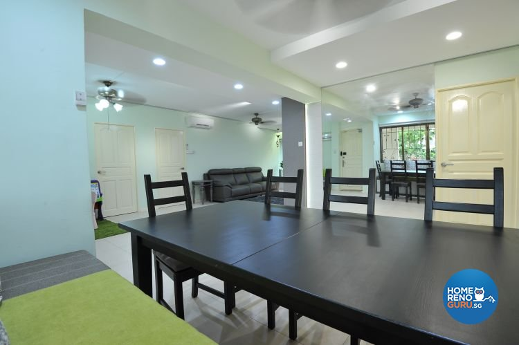 Minimalist, Modern Design - Dining Room - HDB Executive Apartment - Design by Amazon Interior Design