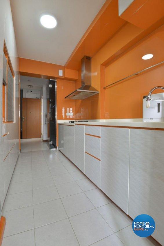 Eclectic, Minimalist, Modern Design - Kitchen - HDB 4 Room - Design by Amazon Interior Design