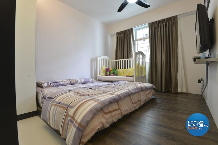 Eclectic, Minimalist, Modern Design - Bedroom - HDB 4 Room - Design by Amazon Interior Design