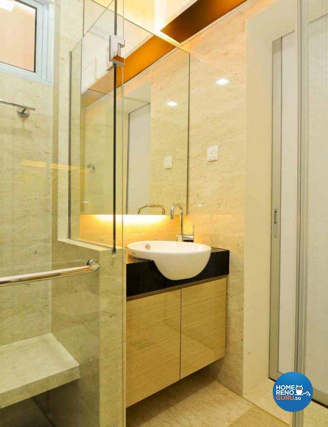 Contemporary, Modern, Retro, Rustic, Vintage Design - Bathroom - Condominium - Design by Amazon Interior Design