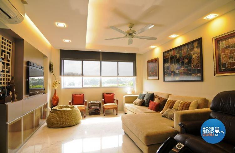 Contemporary, Modern, Retro, Rustic, Vintage Design - Living Room - Condominium - Design by Amazon Interior Design