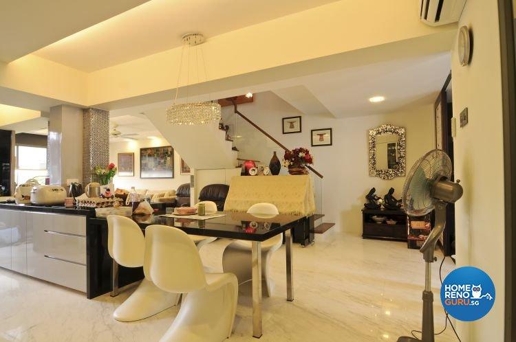 Contemporary, Modern, Retro, Rustic, Vintage Design - Dining Room - Condominium - Design by Amazon Interior Design