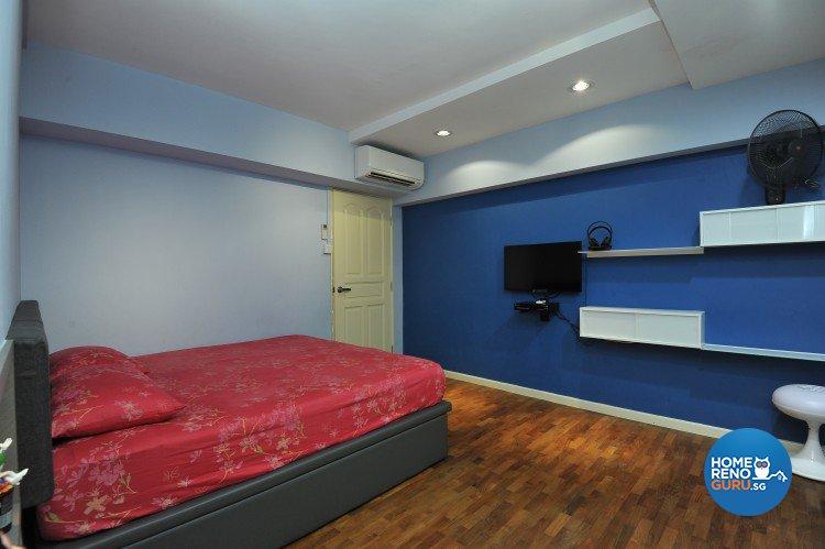 Eclectic, Minimalist, Scandinavian Design - Bedroom - HDB Executive Apartment - Design by Amazon Interior Design