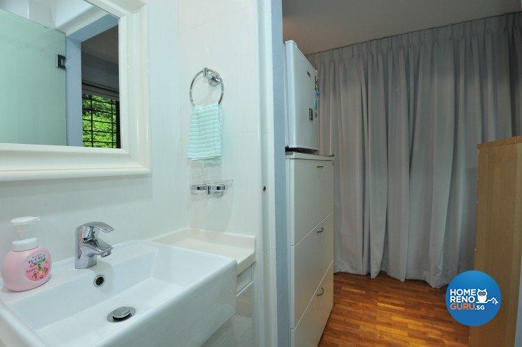Eclectic, Minimalist, Scandinavian Design - Bathroom - HDB Executive Apartment - Design by Amazon Interior Design