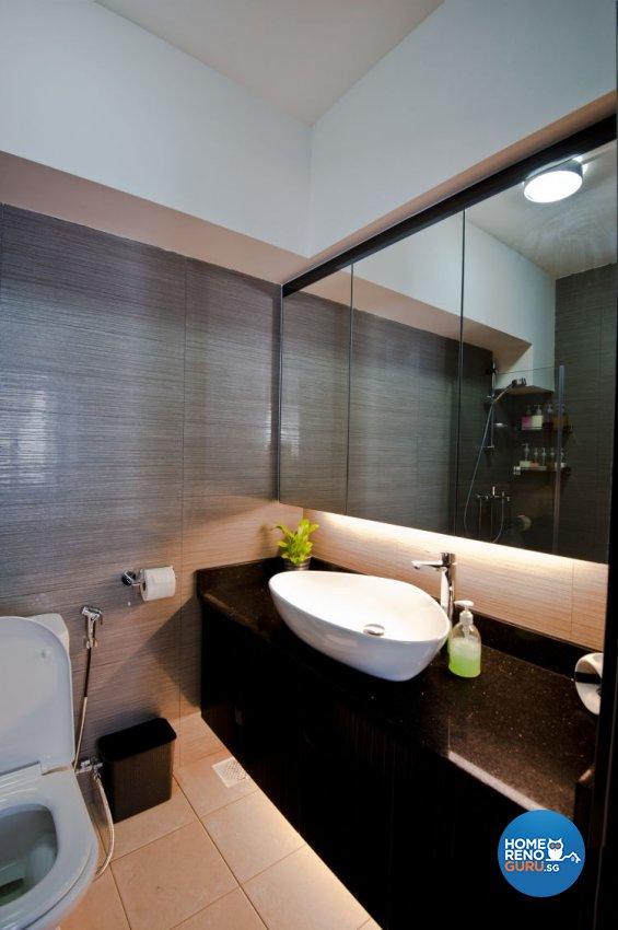 Minimalist, Modern Design - Bathroom - Condominium - Design by Amazon Interior Design
