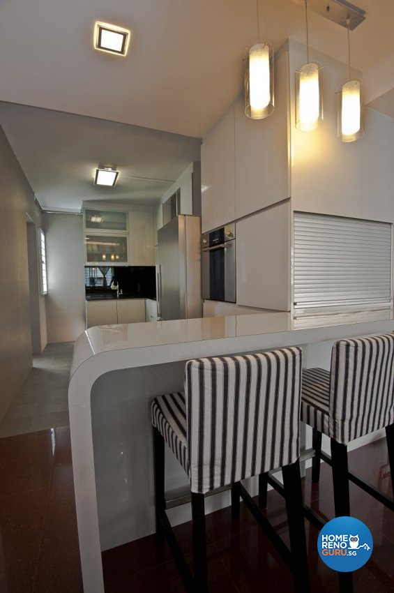 Minimalist, Modern Design - Kitchen - Condominium - Design by Amazon Interior Design