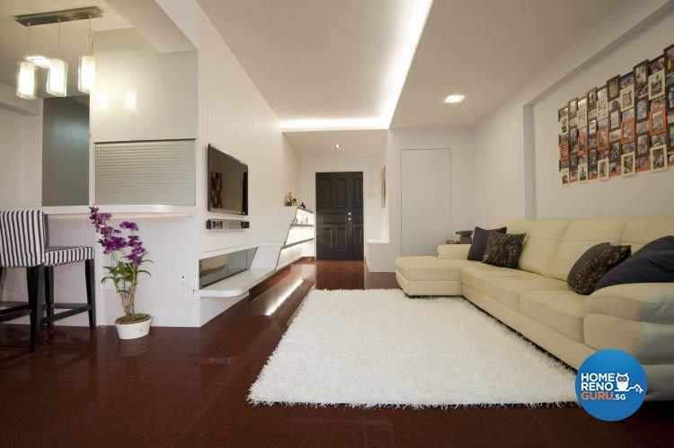 Minimalist, Modern Design - Living Room - Condominium - Design by Amazon Interior Design