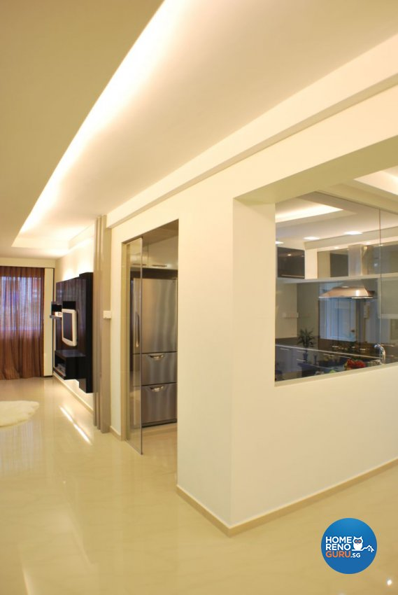 Contemporary, Modern Design - Kitchen - HDB 5 Room - Design by Amazon Interior Design