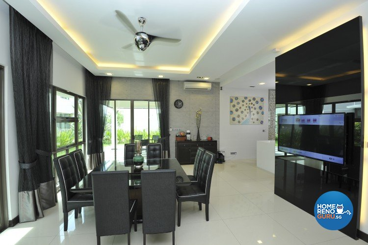 Contemporary, Minimalist, Modern Design - Dining Room - Landed House - Design by Amazon Interior Design