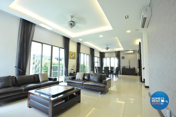Singapore interior design gallery design details for Living room design johor bahru